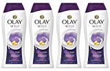 Olay Age Defying with Vitamin E Body Wash, 22 oz, (4 Count)