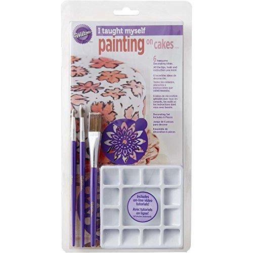 Wilton 2104-1173 I Taught Myself Painting On Cakes Set (Painting Cakes)