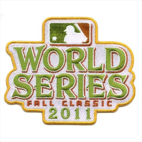 2011 World Series Fall Classic MLB Baseball Jersey Sleeve Patch - Texas Rangers vs St. Louis Cardina - World Series Mlb Baseball Jersey