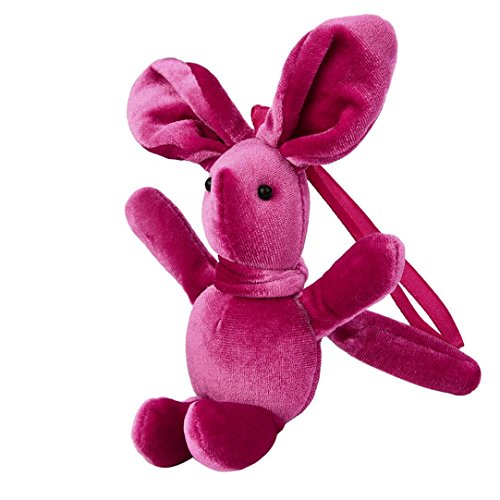 Soft Plush Toys Rawdah Mini Cute Bunny Animal Rabbit Doll Stuffed Baby Gift (metallic)