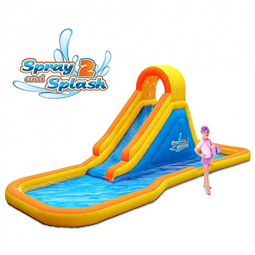 Top 7 Best Water Slide Pools Inflatable (2019 Reviews) 3