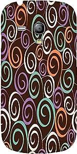 Snoogg Floral Seamless Pattern Designer Protective Back Case Cover For Samsun...