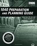 1040 Preparation and Planning, Kess, Sidney and Weltman, Barbara, 0808013580