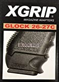 X Grip Glock 26-27C Use G19 G23 or G32 Mag in GlockG26 G27 or G33 No Tools Required