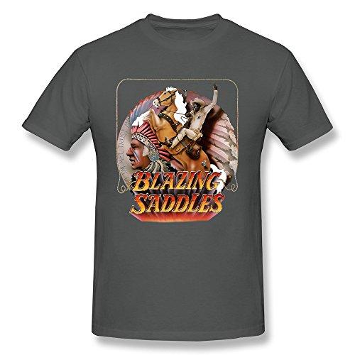 PAYYAND Mens Blazing Saddles T shirt product image