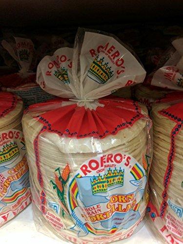 Romero's Whole Grain Corn Tortillas (72 Pack) by Romero's