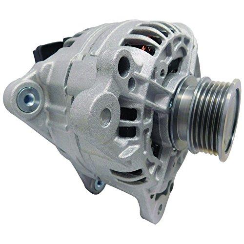 New Alternator For Volkswagen VW Golf 2.5L 2010-2014, Jetta 2.5L 2005-2014, Rabbit 2.5L 2006-2009 07K-903-023A, 0 124 525 062, 0 124 525 102 ()