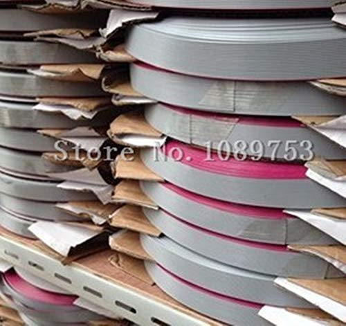 BIN BON - 5m/lot 1.27mm Spacing Pitch 6/8/10/12/14/16/20/26/34/40 pin Grey Flat Ribbon Data Cable Wire Connector AWG28 300V