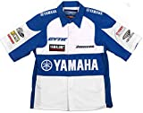 Yamaha Racing Team Embroidered Pit Shirts 3 Great