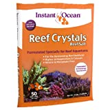 Instant Ocean Reef Crystal Sea Salt Marine Mix, 50-Gallon