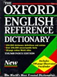 The Oxford English Reference Dictionary 9780198600503