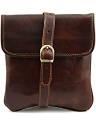 Tuscany Leather Joe Leather Crossbody Bag Leather bags for men