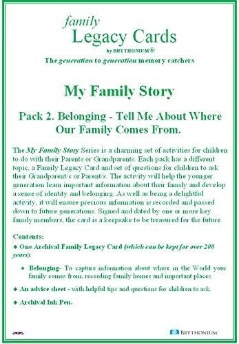 Mi familia historia Pack 2: Pertenecientes – Tell me about de ...