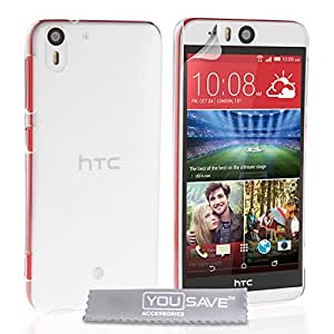 Yousave Accessories HT-DA03-Z774 - Carcasa para HTC Desire Eye, transparente