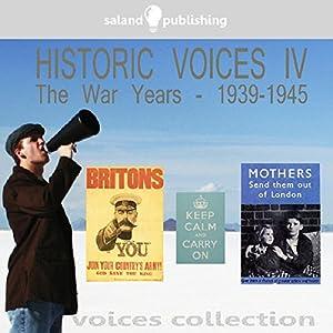 Historic Voices IV Audiobook