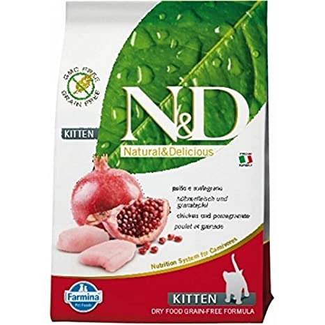 Farmina - Farmina N&D Pollo y Granada Kitten Grain Free - 1073 - 1,5