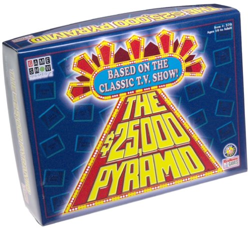 $25,000 Pyramid Board Game - Game Show Network by Endless Games