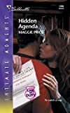 img - for Hidden Agenda: Line of Duty (Silhouette Intimate Moments No. 1269) book / textbook / text book