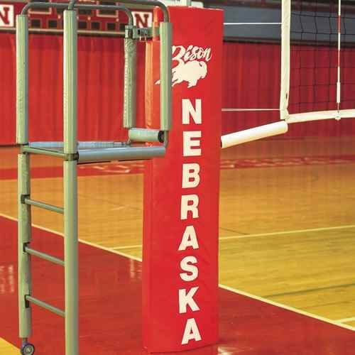 Volleyball Referee Stand - Clamp-On with Pole Padding (Kelly)