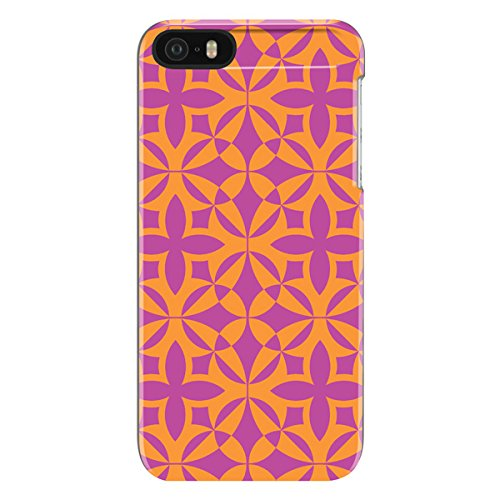 (iPhone 5/5s Case, [Protective] Trina Turk Snap Case Case for iPhone 5/5s-Francie Foulard Print)