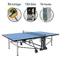 Sponeta S 5-73e Schul-Set -Tischtennisplatte S 5-73e, 8x Joola Schläger, 12x...