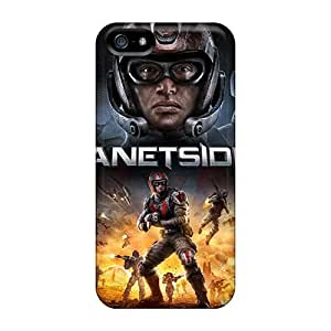 Excellent Iphone 5/5s Case Tpu Cover Back Skin Protector Planetside 2 Game