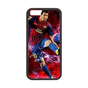 iphone6 4.7 inch Black Lionel Messi phone cases&Holiday Gift
