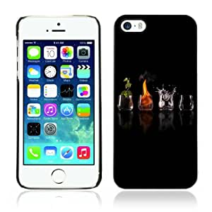 Designer Depo Hard Protection Case for Apple iPhone 5 5S / Different Elements