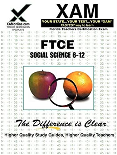 FTCE Social Science 6-12 (XAM FTCE): Wynne, Sharon: 9781581979176:  Amazon.com: Books