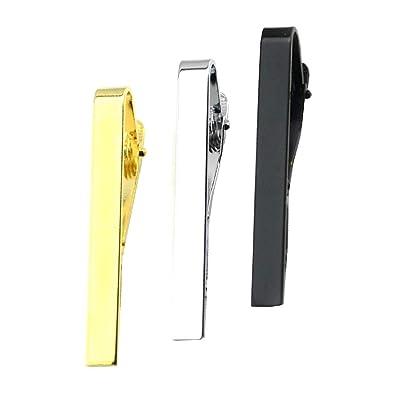 Teydhao - Juego de 3 alfileres de corbata de 5,5 cm para hombre ...