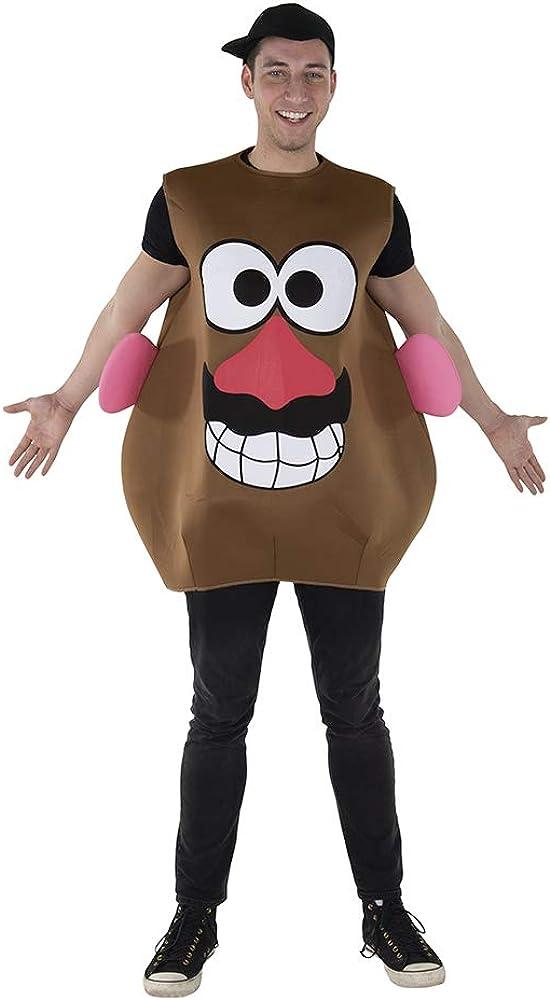 Dress Up America Potato Costume For Accesorios de Disfraz, marrón ...