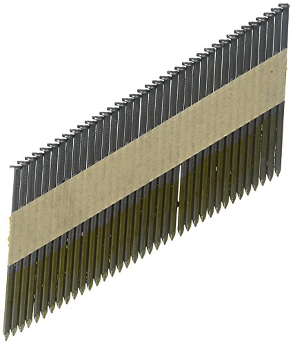 3 in. x 0.120 in. Smooth Shank Clipped-Head Paper Tape Framing Brite Basic Nails (2,500-Pack) (Clipped Smooth Shank Head)
