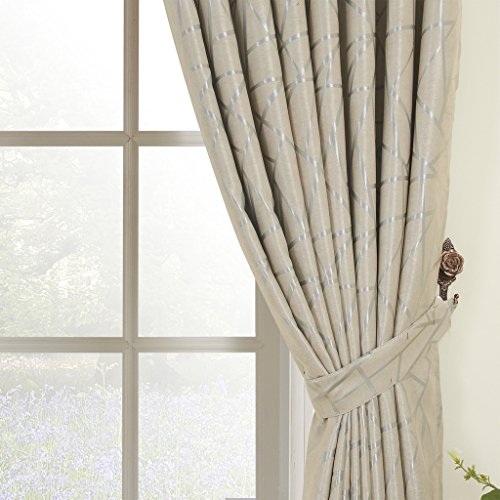 IYUEGO Jacquard Belonging Room Darkening Thermal Grommet Top Curtain Drapes With Multi Size Custom 72