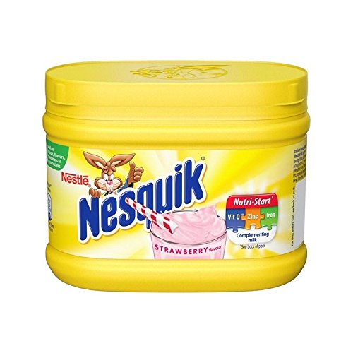 Nesquik Strawberry Flavour 300g - Pack of 4