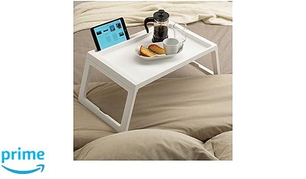 Bandeja de desayuno para llevar a la cama. Mesa para apoyar el desayuno o el ordenador portátil: Amazon.es: Juguetes y juegos