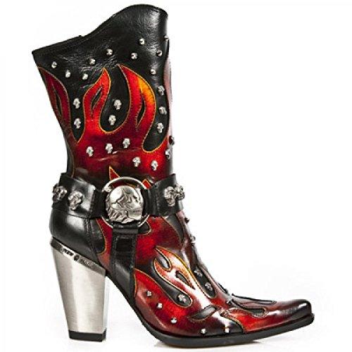 Nieuwe Rock Handgemaakte M 7986 C10 Brand Damen Stiefel