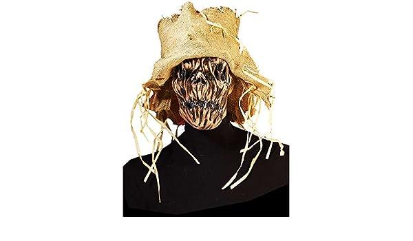 Máscara de espantapájaros esqueleto para adulto: Amazon.es: Juguetes y juegos