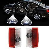 led mercedes emblem - Klinee Easy Installation Car Door LED Logo Projector Ghost Shadow Lights Symbol Emblem Courtesy Step Lights