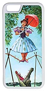 iphone 4 4s Case, CellPowerCasesTM Haunted Mansion Stretching [Flex Series] -iphone 4 4s White Case [iphone 4 4s V1 White]