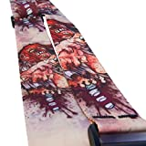 LeatherGraft Bold Design Designer Colour Print Nylon Electric Acoustic Bass Guitar Strap