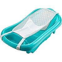 The First Years 143155 Tina de baño Sure Confort con hamaca de recién nacido a niño pequeño, azul