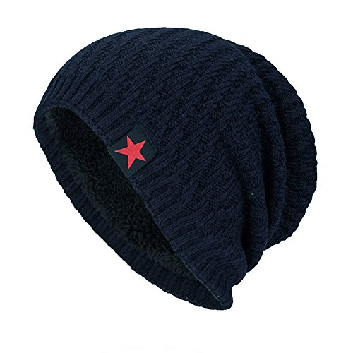 XOWRTE Unisex Women Men Winter Warm Outdoor Hedging Knit Beanie Cap Hat