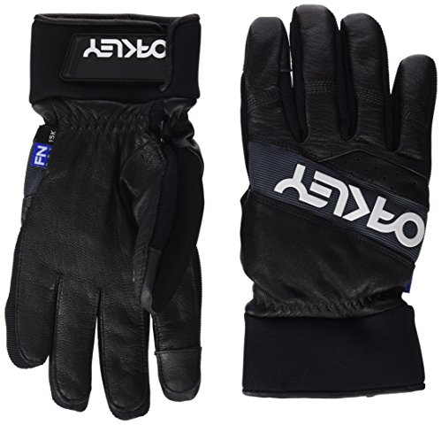 Oakley Men's Factory Winter 2 Gloves, Jet Black, Large