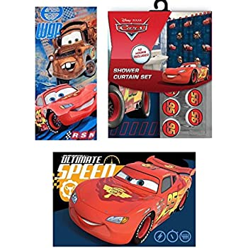 Amazon.com: Disney/Pixar Cars 2 Arrows Resin Shower Curtain Hooks ...
