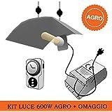 Kit Luce AGRO Super Lumens - 600W + Omaggio