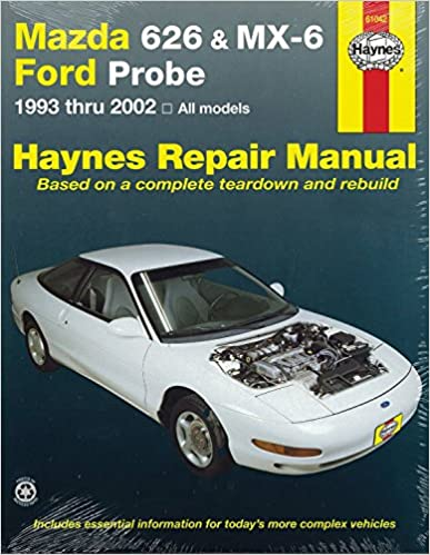 Mazda 626 mx 6 ford probe 1993 2002 repair manual haynes repair mazda 626 mx 6 ford probe 1993 2002 repair manual haynes repair manual 1st edition fandeluxe Images