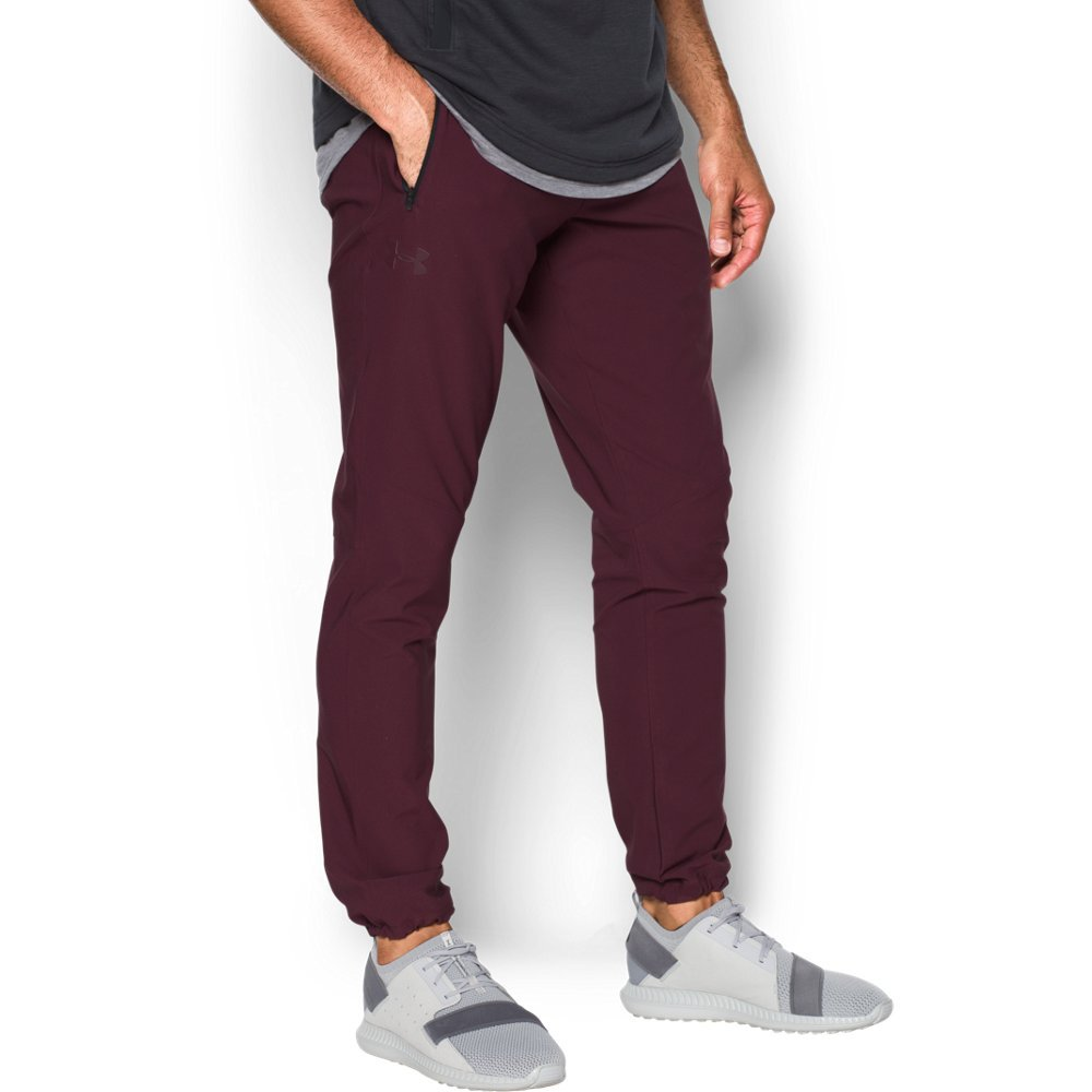 Under Armour Men's WG Woven Pant, Raisin Red, 3XL-T