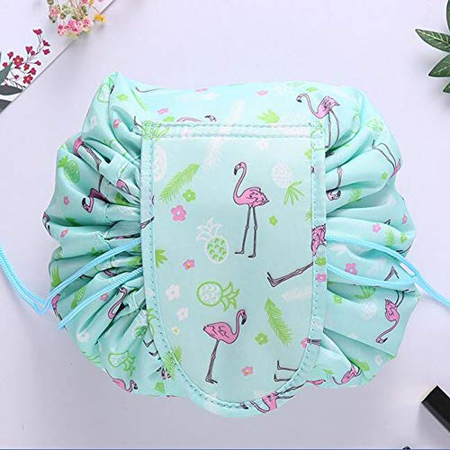 ec85c2e748ed Westspark Travel Cosmetic Bags, Lazy Makeup Storage Bag Drawstring Large  Capacity Folding Toiletry Bags, Waterproof Quick Pack Magic Bags with  Zipper ...