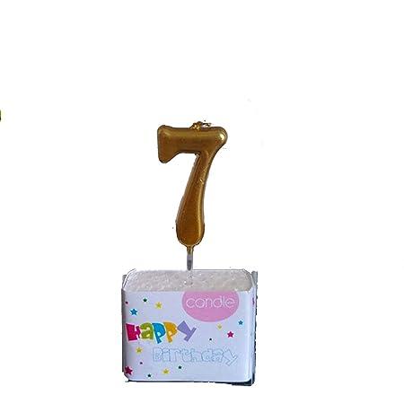 Velas de cumpleaños para decoración de tartas, diseño con ...