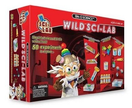 Tedco Toys 02072 Wild Sci-Lab Large Science Kit